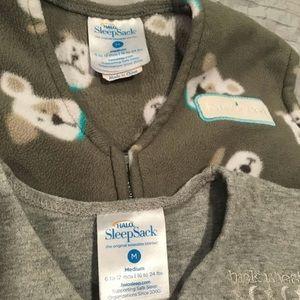 Two Halo SleepSack Wearable Blankets